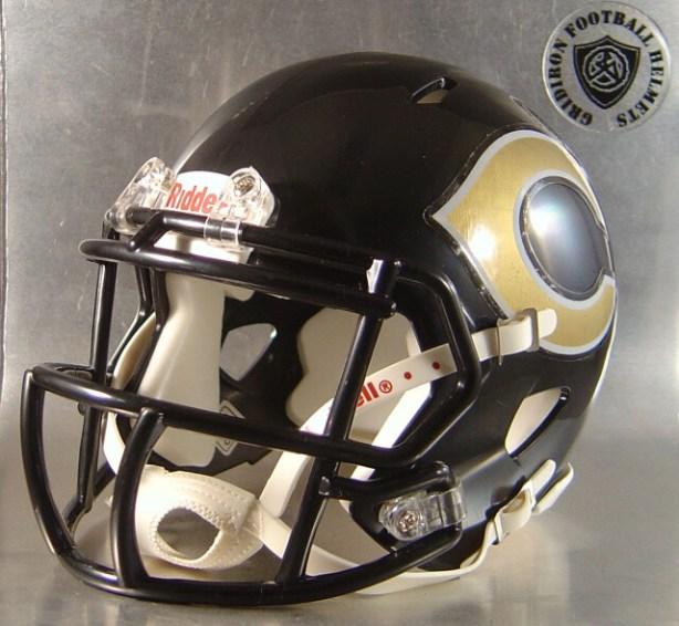 Crawford Pirates HS TX 2006-2016 - mini-helmet