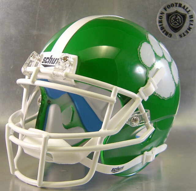 Normangee Panthers HS 2012 (TX) (mini-helmet)