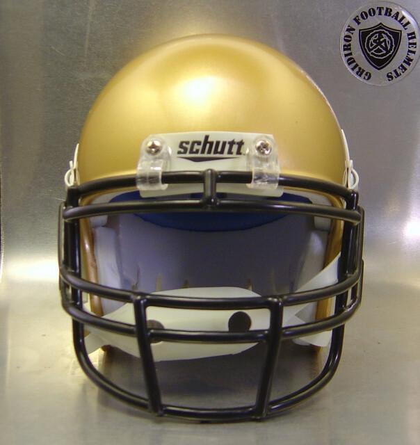 Vega Longhorns HS 2008 (TX) - mini-helmet