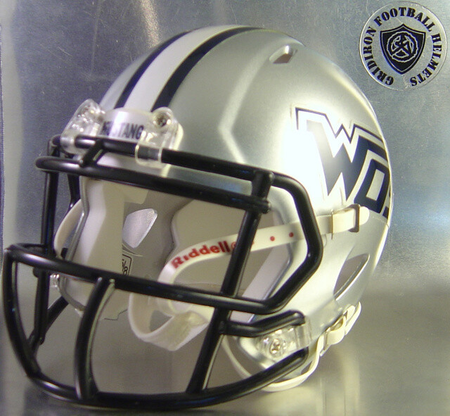 West Orange-Stark Mustangs HS 2013-2015 (TX)  - mini-helmet