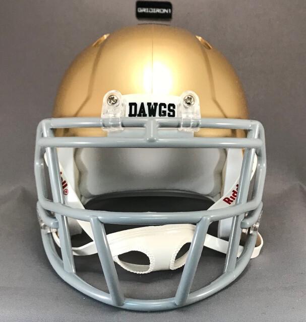 Alexander Bulldogs HS (TX) 2018 - mini-helmet