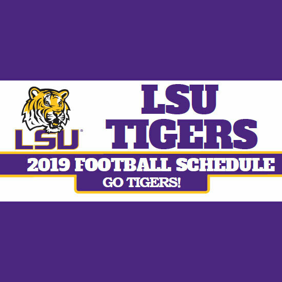 2019 LSU Opponent Pack