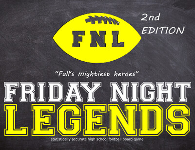 Friday Night Legends Board Game - 2nd Edition