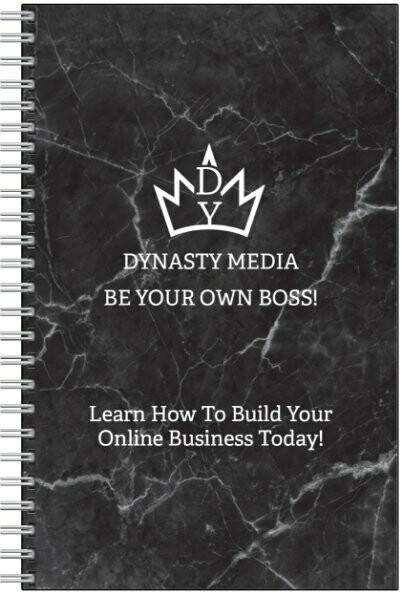 DYNASTY MEDIA NOTEBOOK W/ D.Y Pen