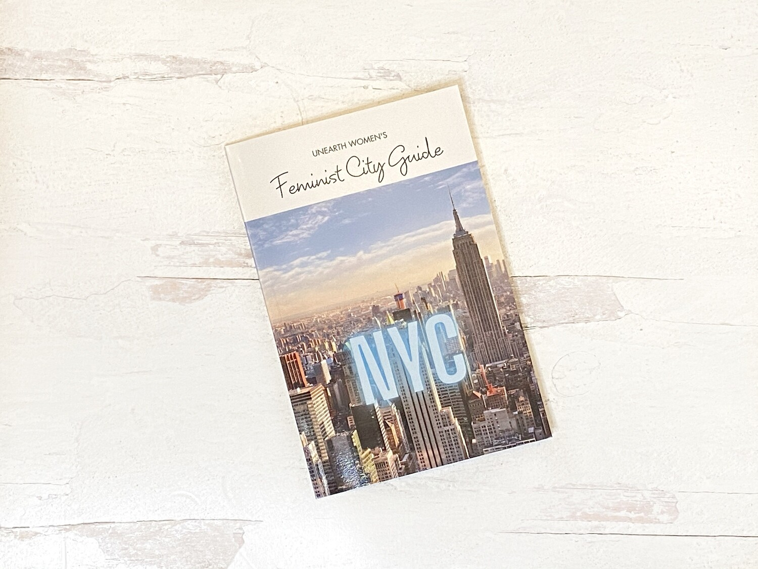 Feminist City Guide to NY, 2020 Edition (PRINT)
