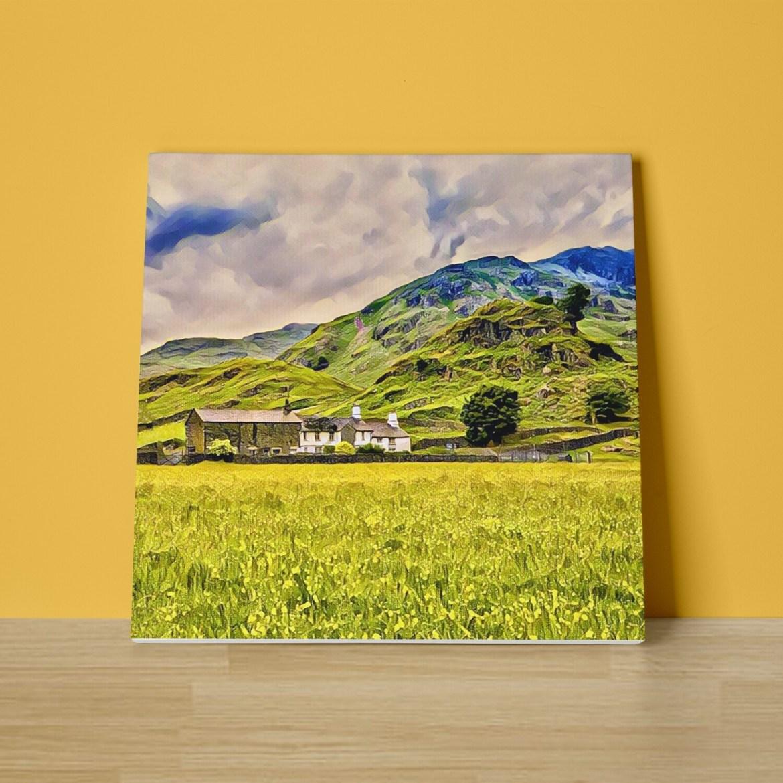 Lakeland Farm Canvas Print