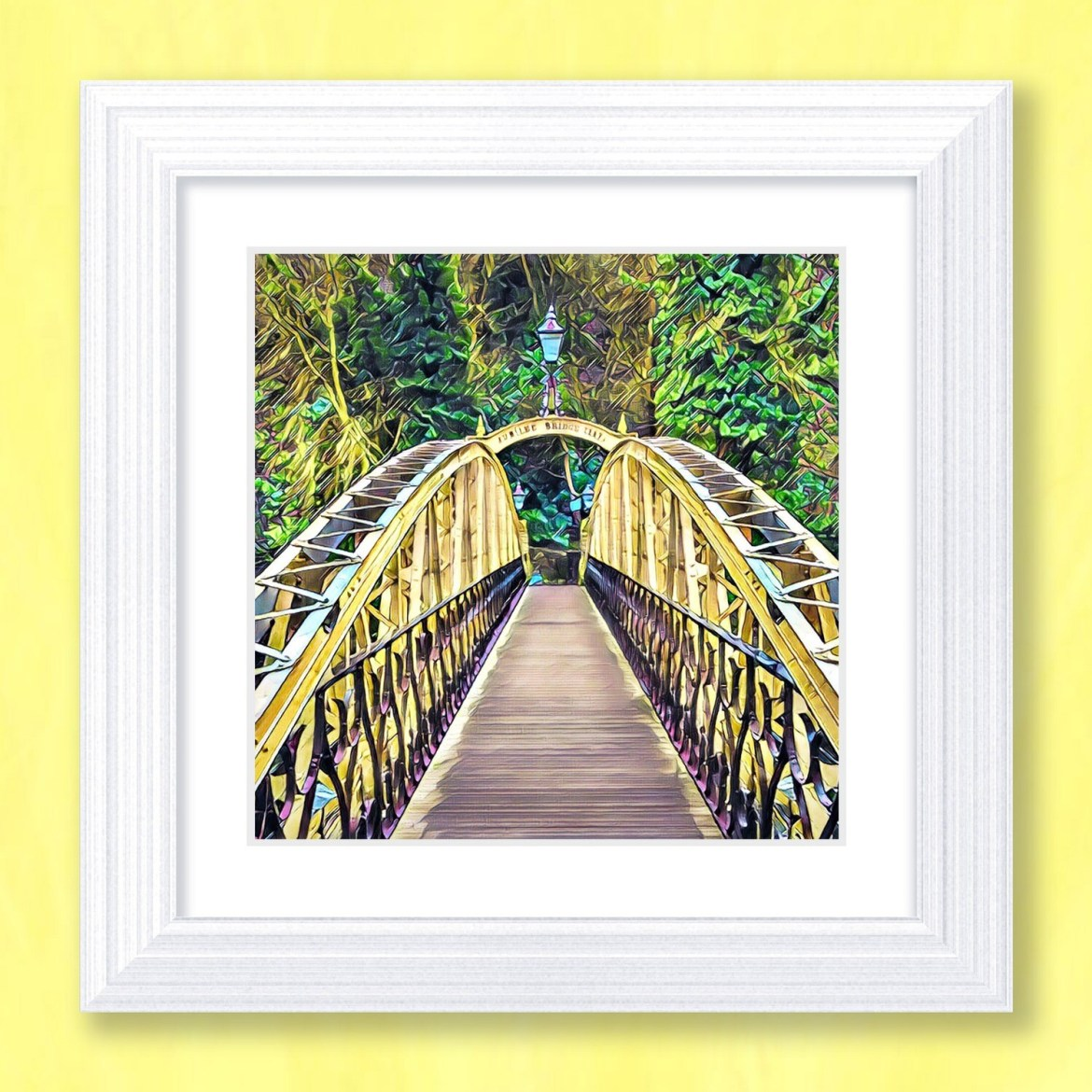 Jubilee Bridge Art Print