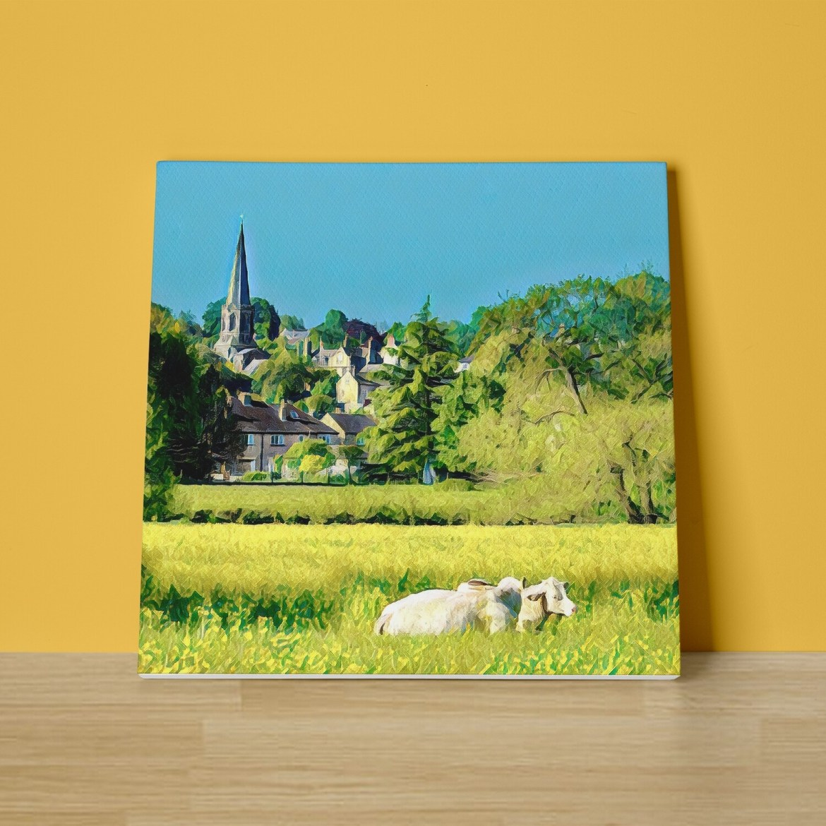 Bakewell Canvas Print