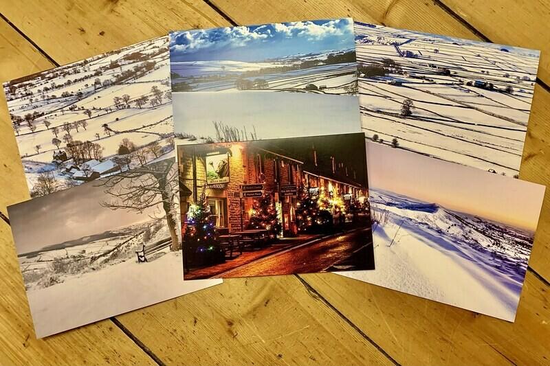 Seasonal Peak District Greeting Card Bundle (6 in a pack)