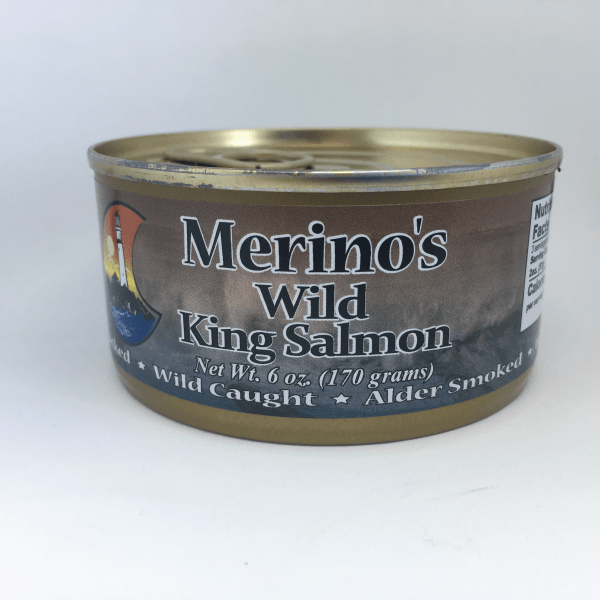 Merino's Wild King Salmon