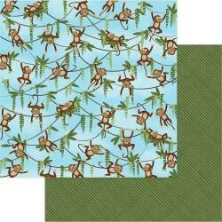 Monkey Business double sided cardstock