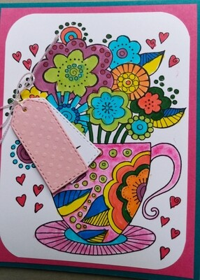 Teacup Card Kit