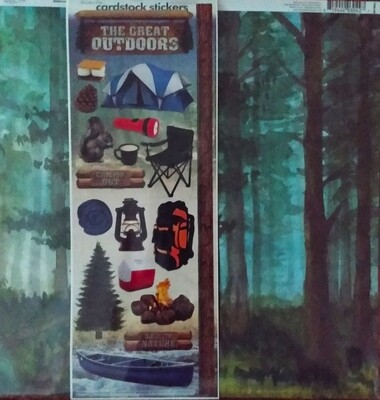 The Great Outdoors Scrapbook Kit
