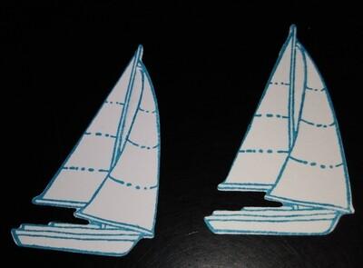Sailboat Die Cuts
