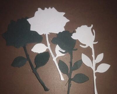 Roses Die Cuts