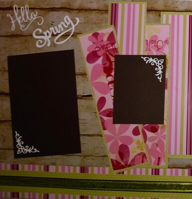 Spring Two Page Layout 2021