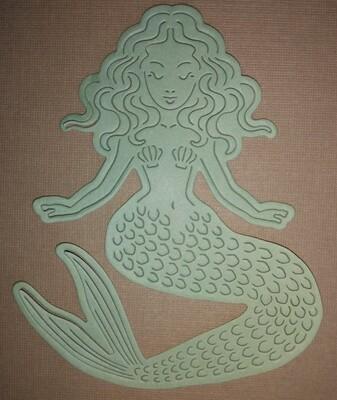 Mermaid Die Cut