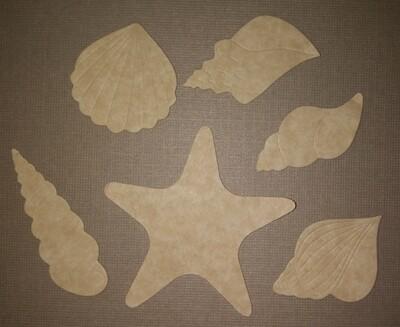 Sea Shells Die Cuts