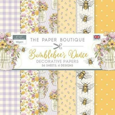Bumblebees Dance Paper Pad