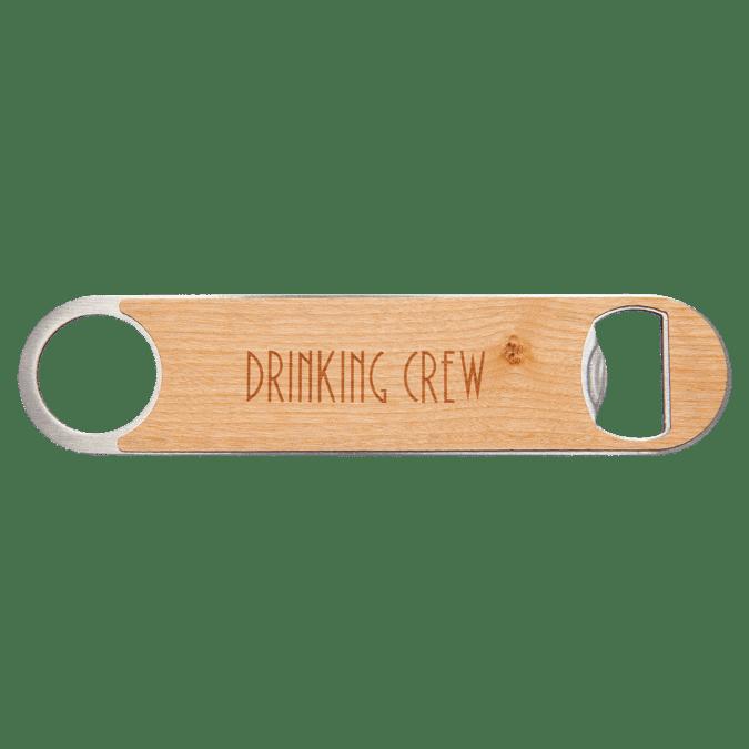 Bottle Opener with Wood Veneer