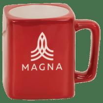 8oz Square Ceramic Mug