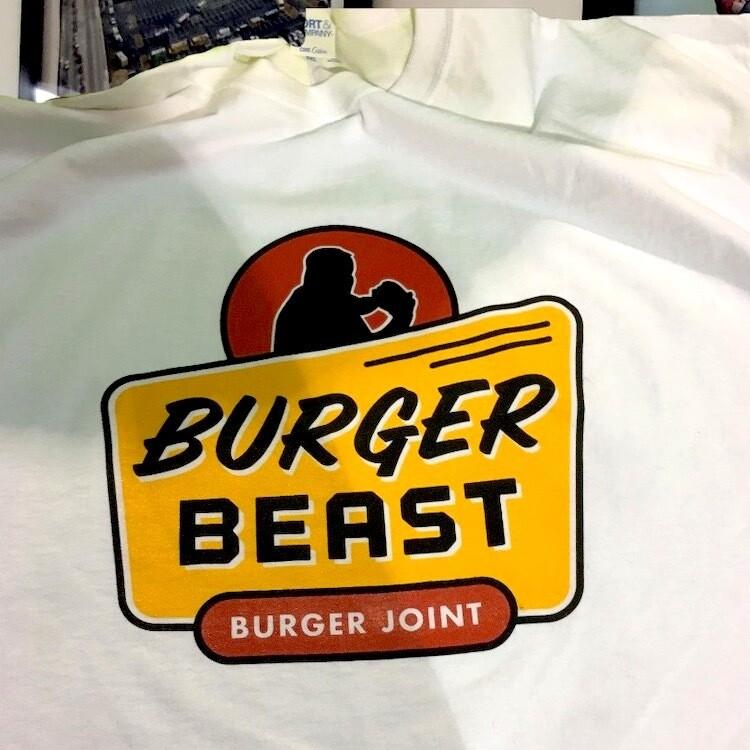 汉堡野兽汉堡联合衬衫