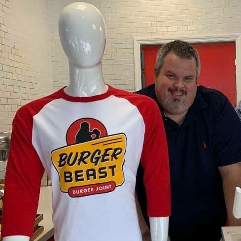 Burger Beast Burger Joint Retro Shirt