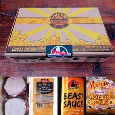 Burgers & Dogs BEAST Box