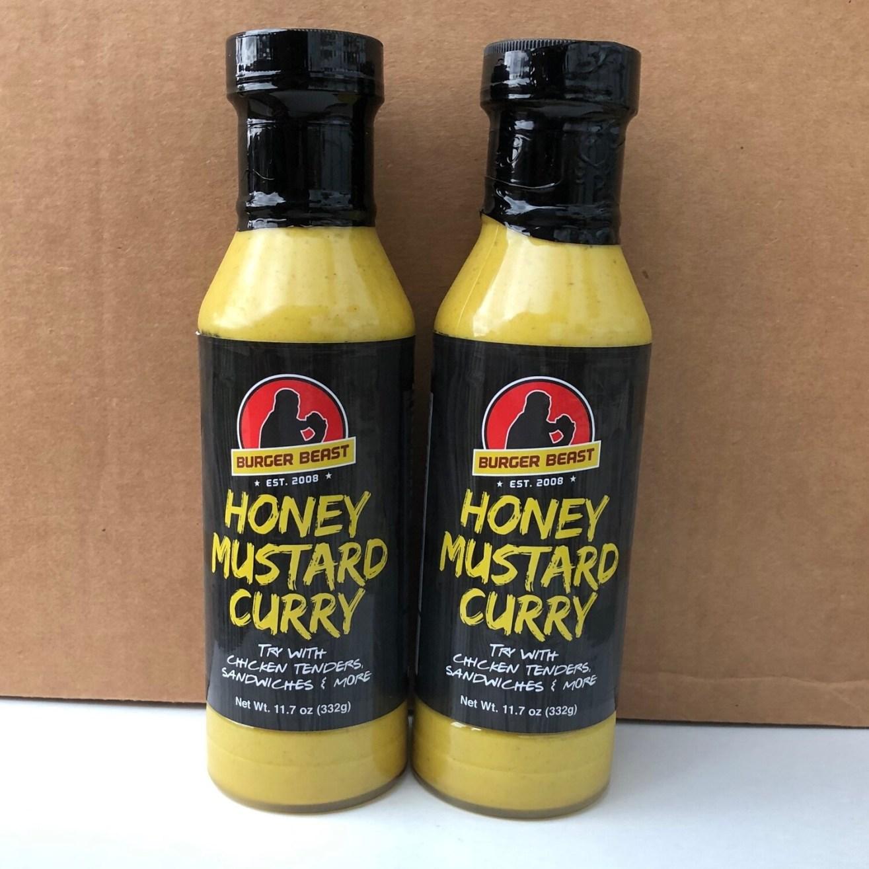 Honey Mustard Curry by Burger Beast
