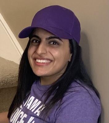 Purple Epilepsy Hat