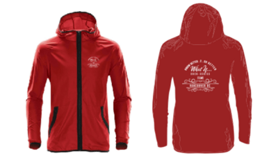 What If ... Documentary Series Unisex Running Jacket (Red)