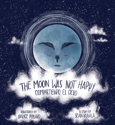 The Moon Was Not Happy: Compartiendo El Cielo