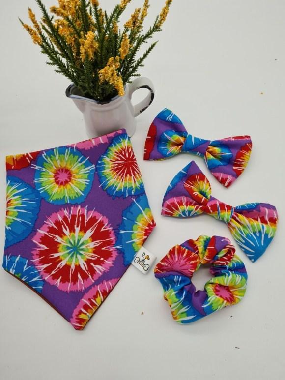 Hippies scrunchie