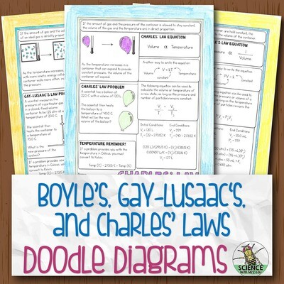 Charles Boyle and Gay-Lusaac Laws Diagram Notes