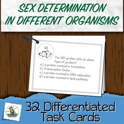 Sex Determination Task Cards