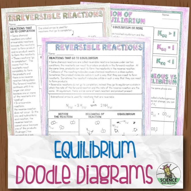 Equilibrium Doodle Diagram Notes