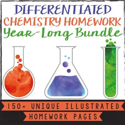 Chemistry Homework Bundle