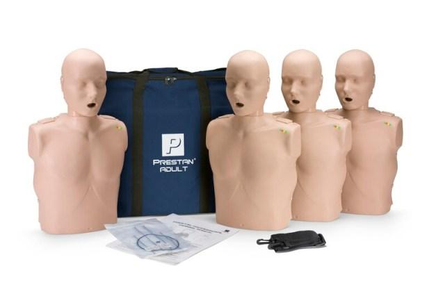 Maniquí de RCP para adultos Prestan (paquete de 4)