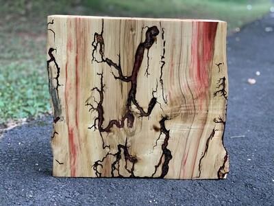 Rustic Wall Art, Live Edge Box Elder Wood