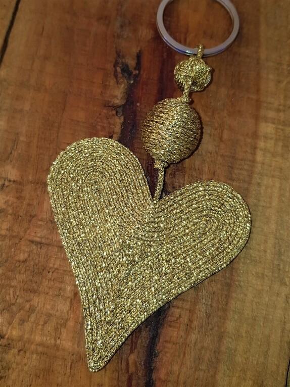 Kasbah Kyla Gold - Keyring