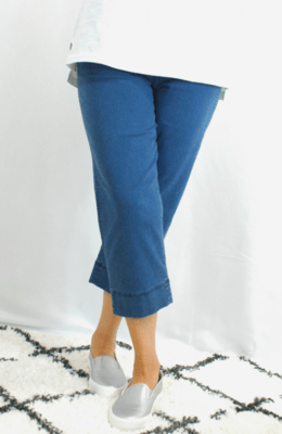 Robell Marie - Crop Trousers Denim