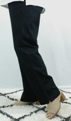 Kasbah Paula - Linen Trouser - Black