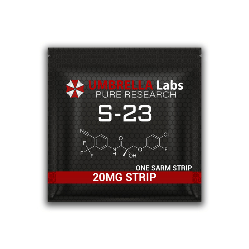 S-23 SARM STRIPS - 20MG/STRIP