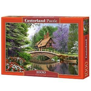 Пазл Castorland Дом у реки 1000 деталей C-102365