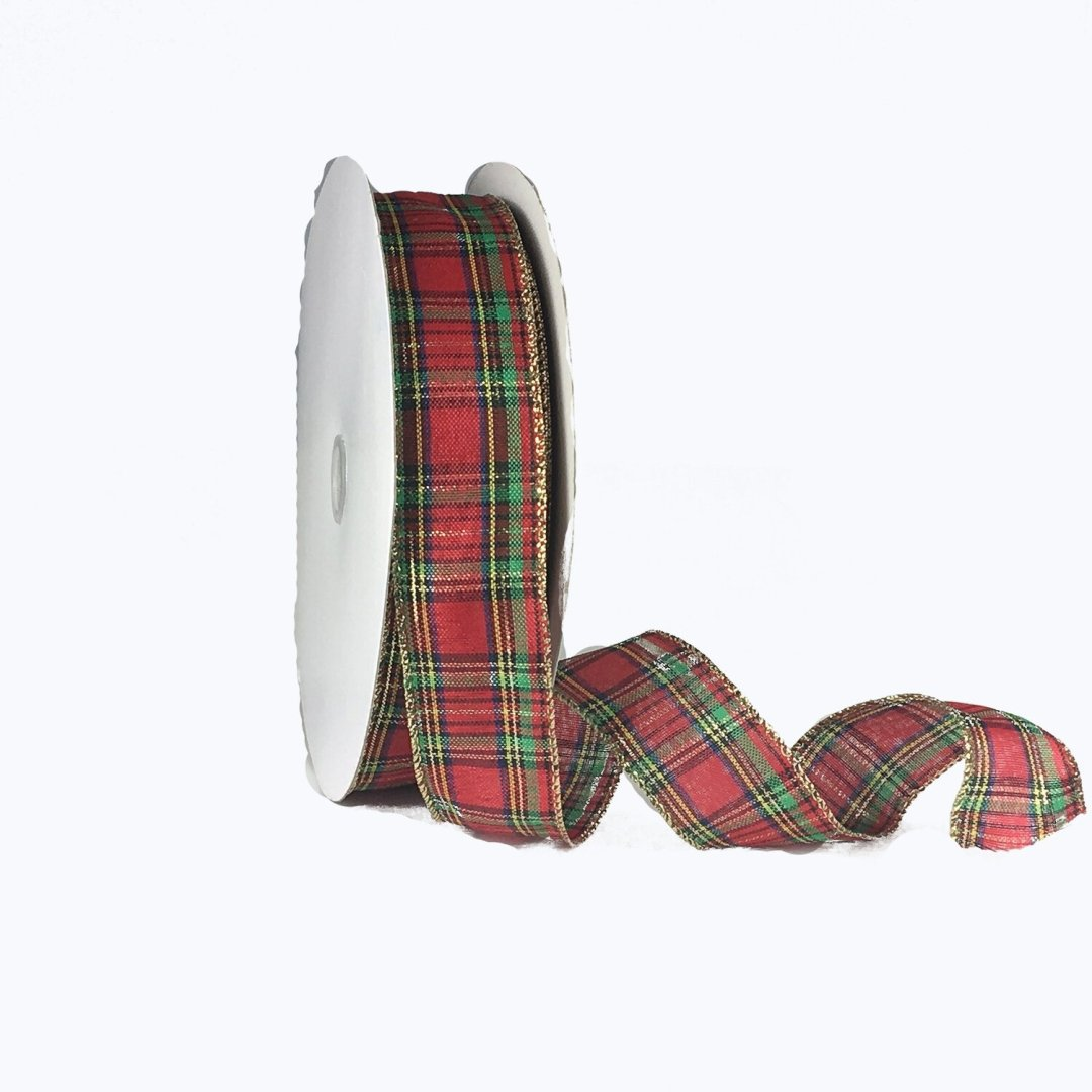 ​ITP009 - Traditional Plaid #9 holiday ribbon