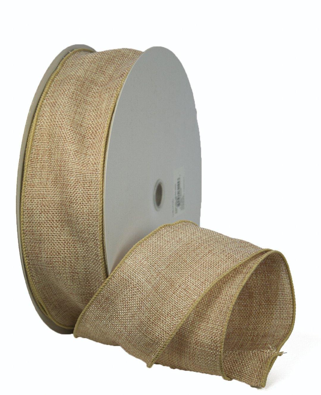 VBUR40 - #40 Wired burlap ribbon