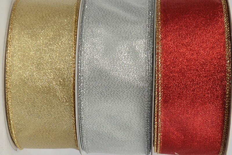 FRO40GOLD - #40 SHEER FROST HOLIDAY RIBBON (Just The Gold)