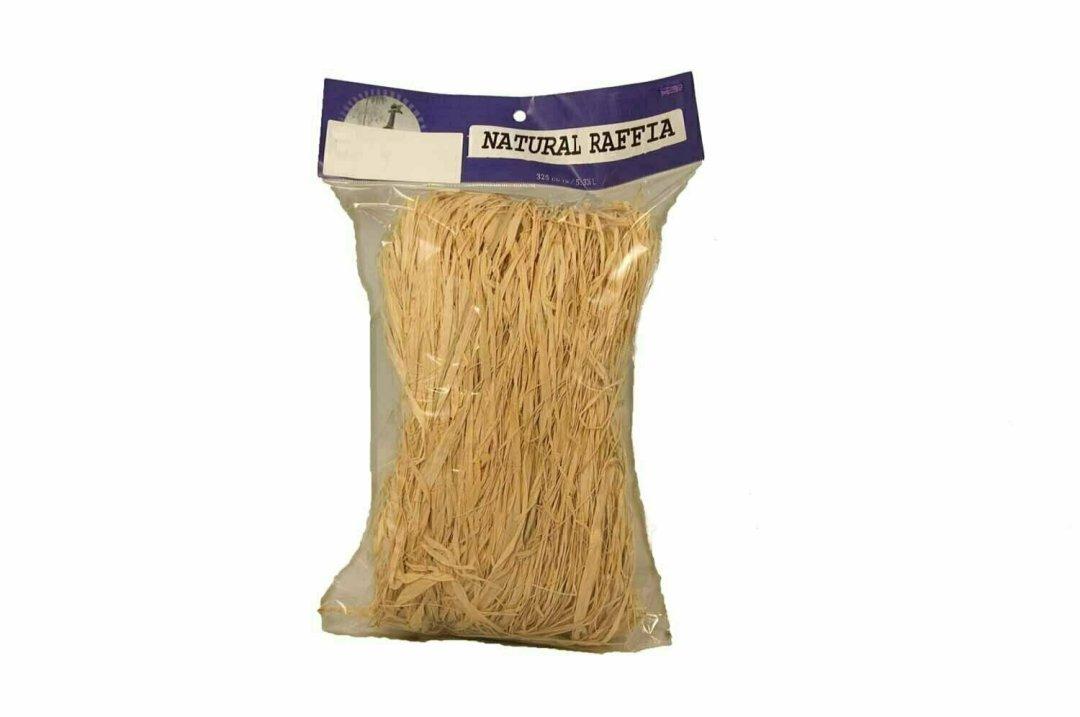 30151 - 12 oz Bag Natural Raffia