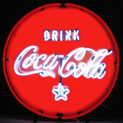 Coca-Cola Coke Red Drink Neon Sign