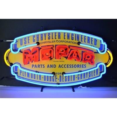 Mopar Shield Neon Sign